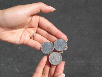 coins for car wash