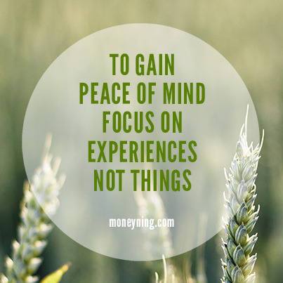 To gain peace of mind