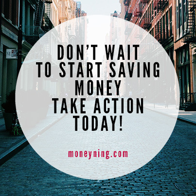 Don't wait to start saving