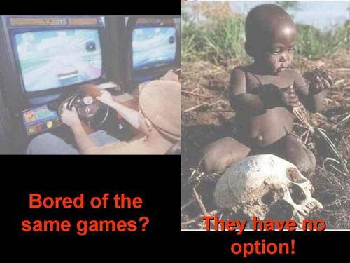 Playing the same game