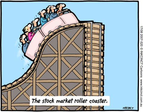 The up and down of the stock market