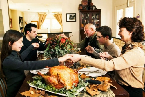 Every family celebrate Thanksgiving