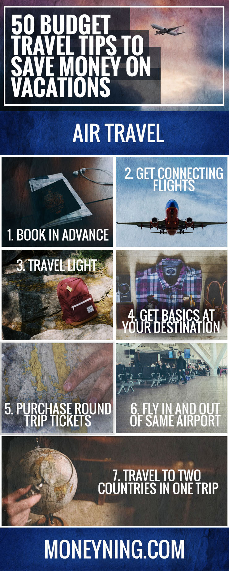 Budget Travel Tips To Save Money On Vacations - Budget vacations