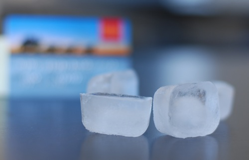 Freeze Your Credit Cards to Ice Your Spending