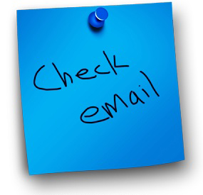 check email