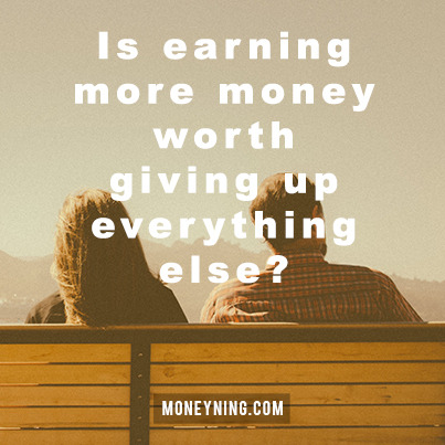 Earning more money