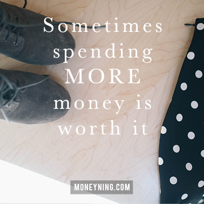 Spending more money