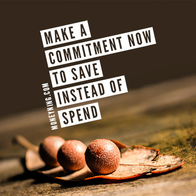 Make a commitment now