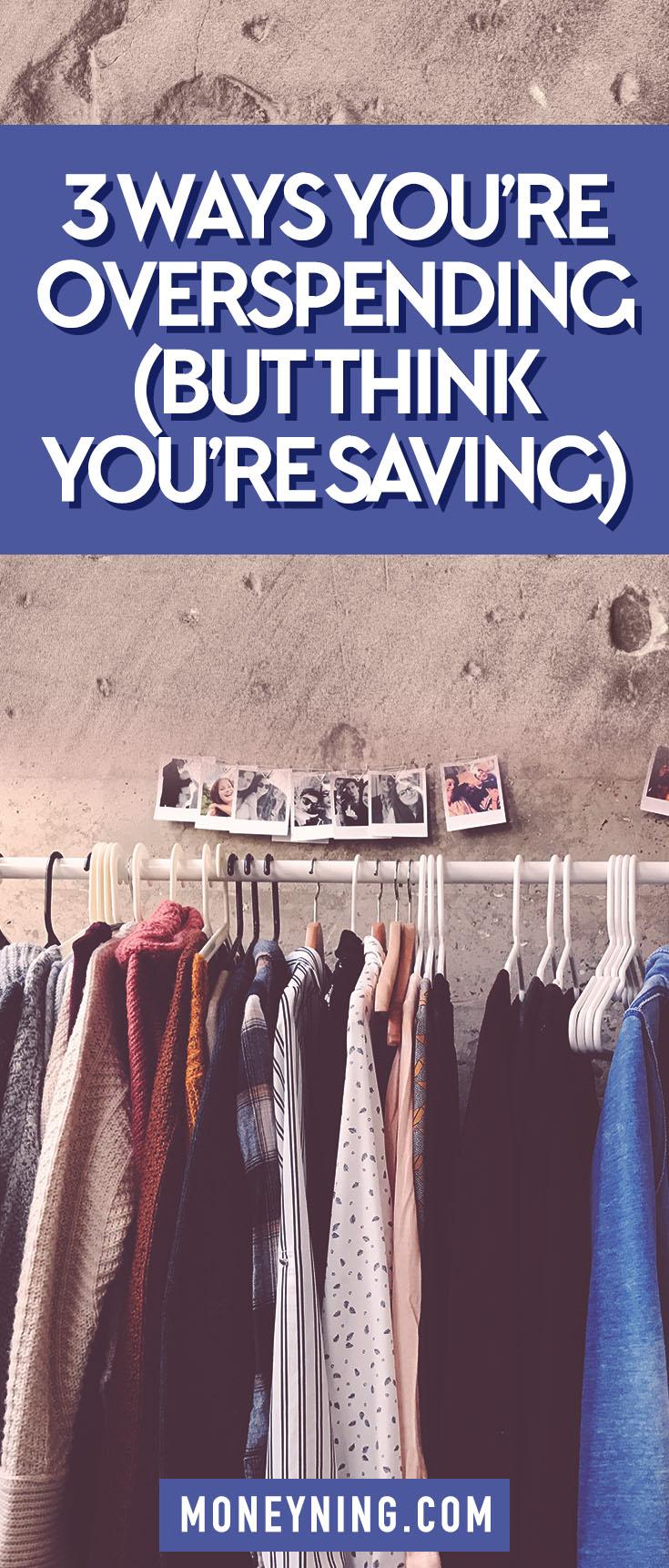 overspending money