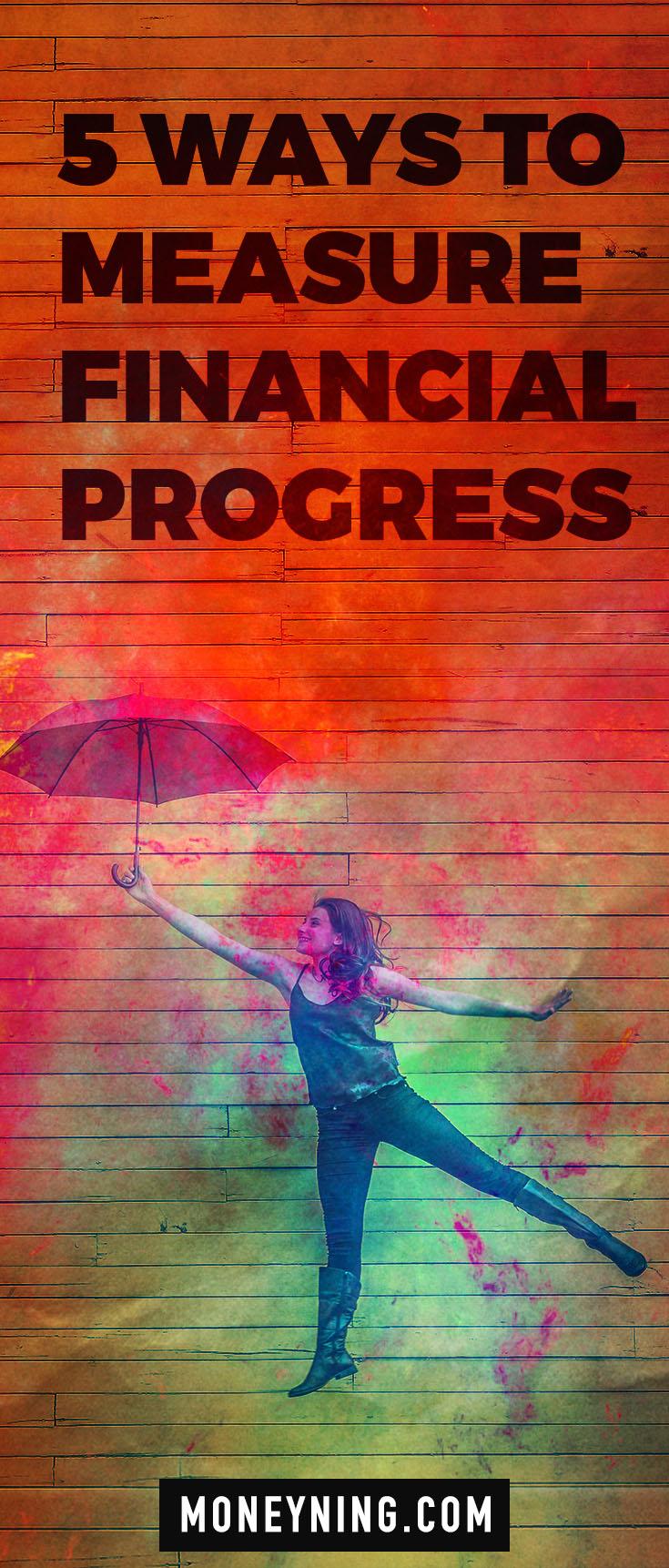measure financial progress