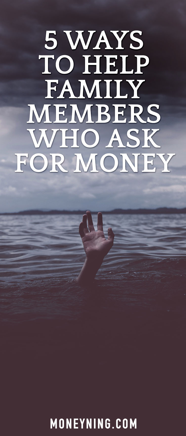 5 Ideas To Help Family Members Who Ask For Money