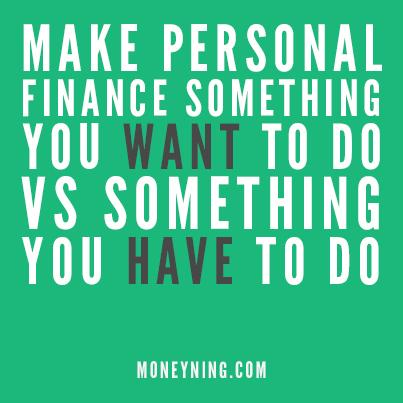 Make personal finance