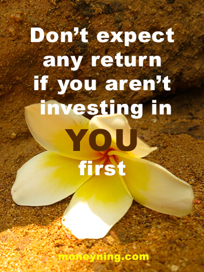 Invest in you quote