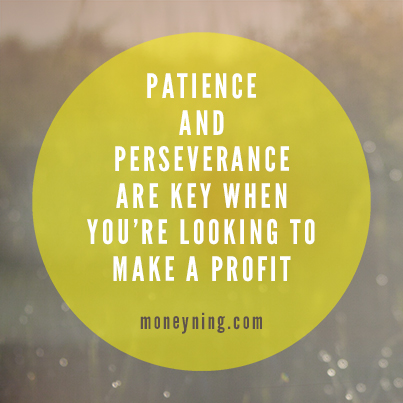 Patience perseverance quote image