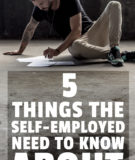 5 Things to Know About Unemployment for the Self-Employed
