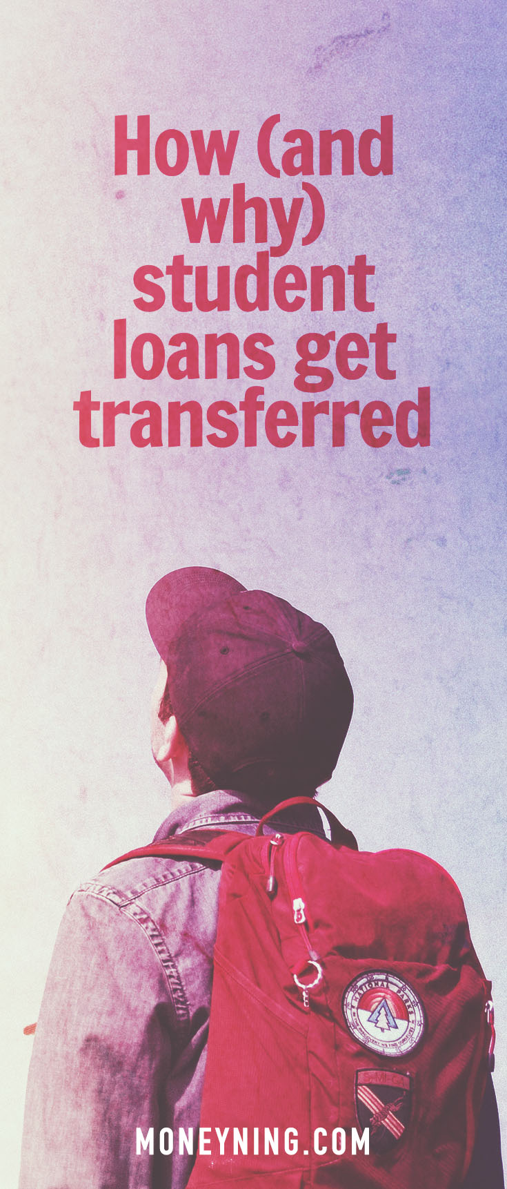 student loan transferred