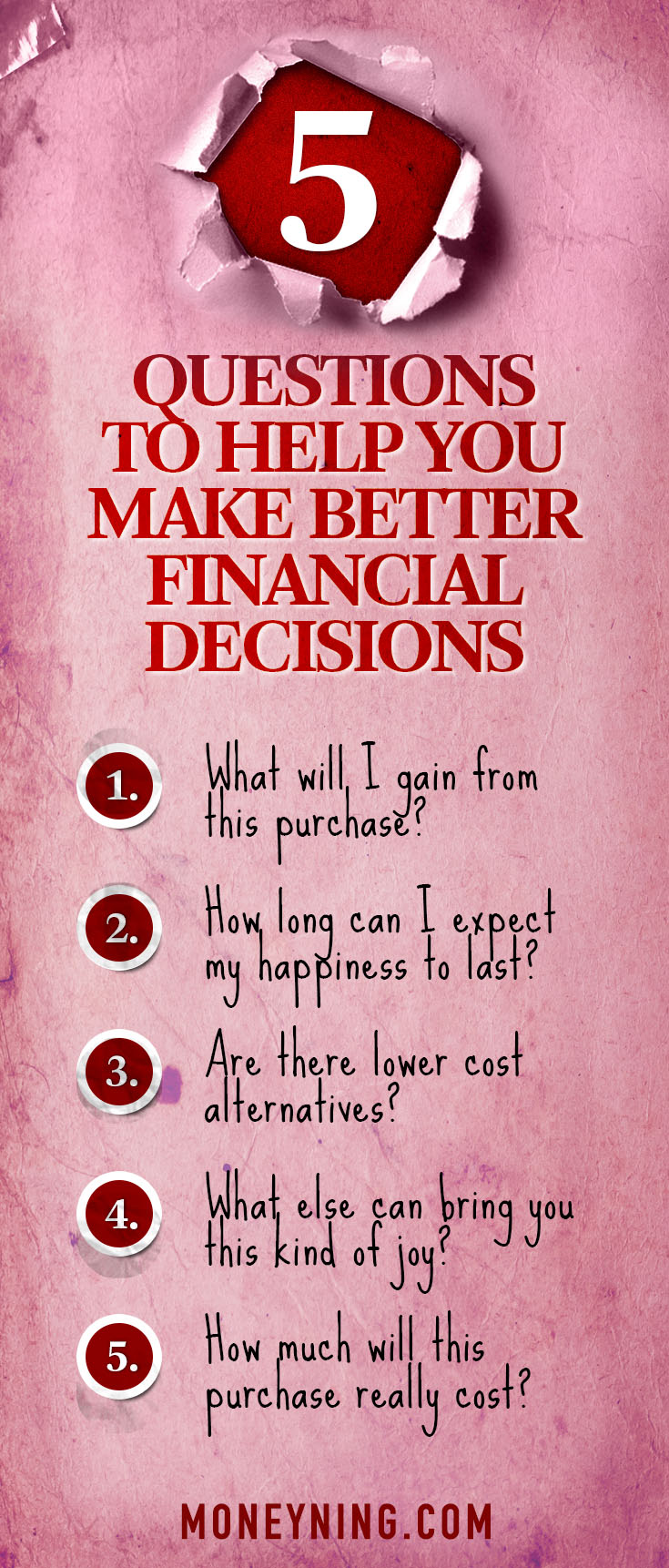 how to make better financial decisions