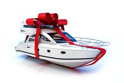 Gift boat