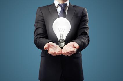 Lightbulb business idea