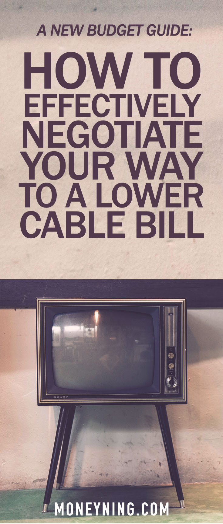 how to negotiate a cable bill