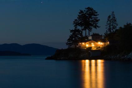 House on ocean