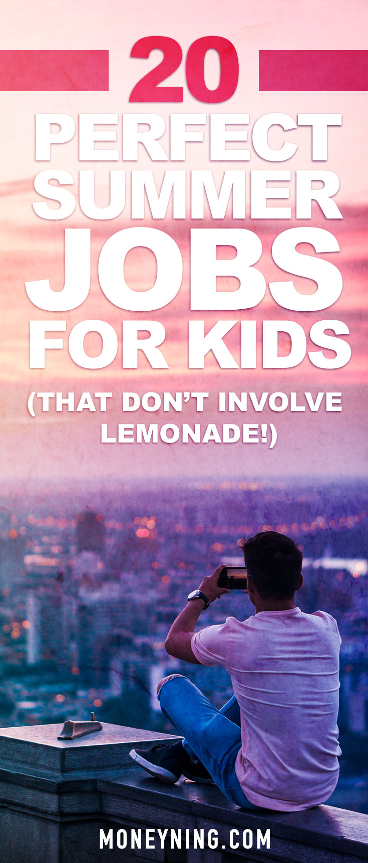 summer jobs for kids