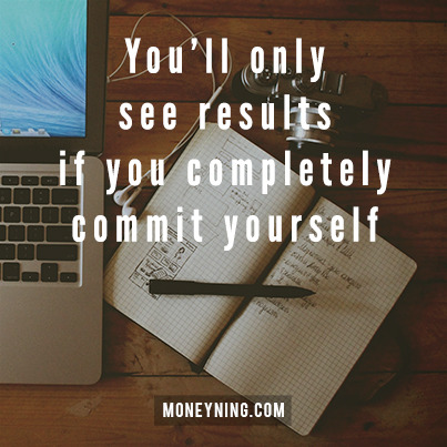 Commit yourself