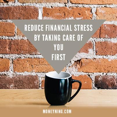 Reduce financial stress