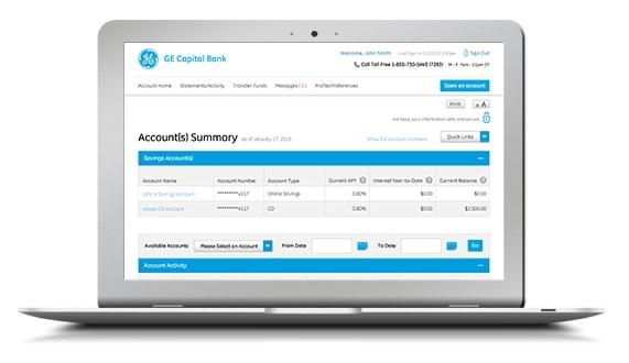 ge capital online platform