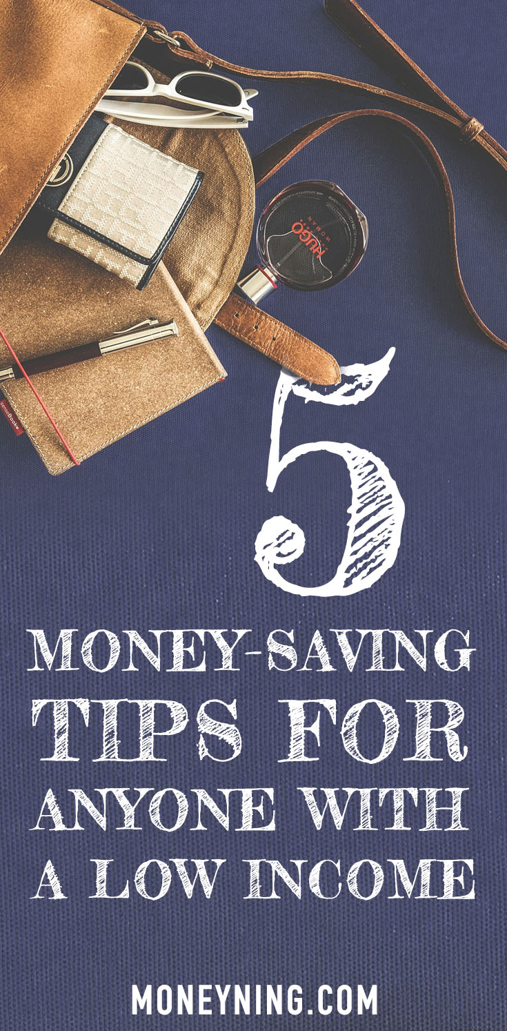 low income savings tips