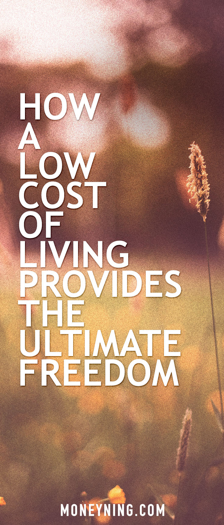 low cost of living