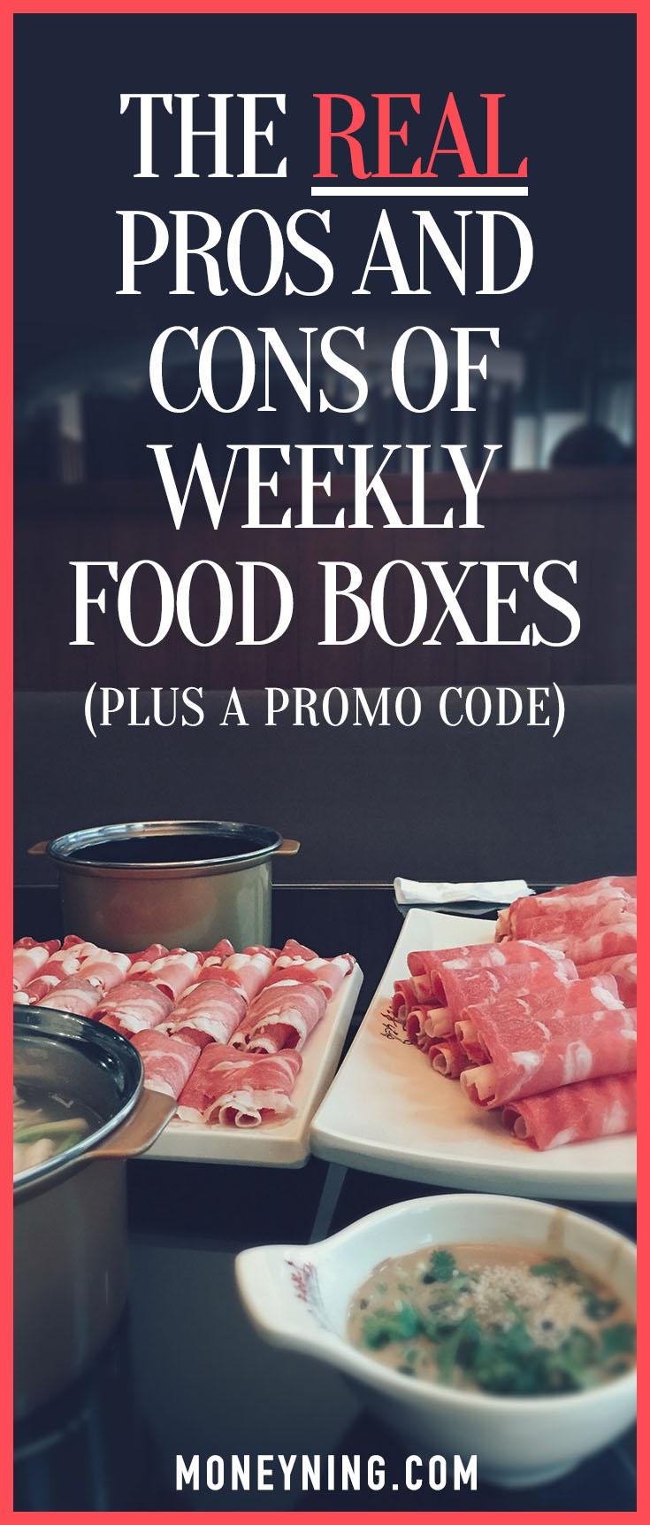 weekly food boxes