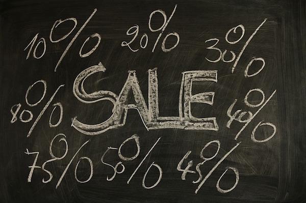 sale discounts