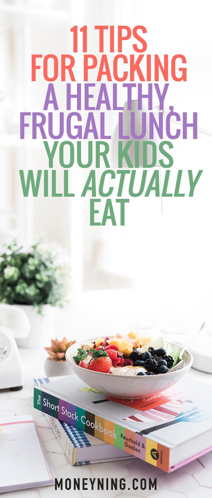 frugal healthy lunch