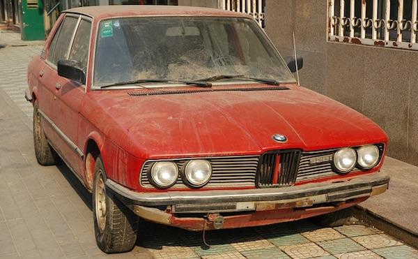 old bmw 528i