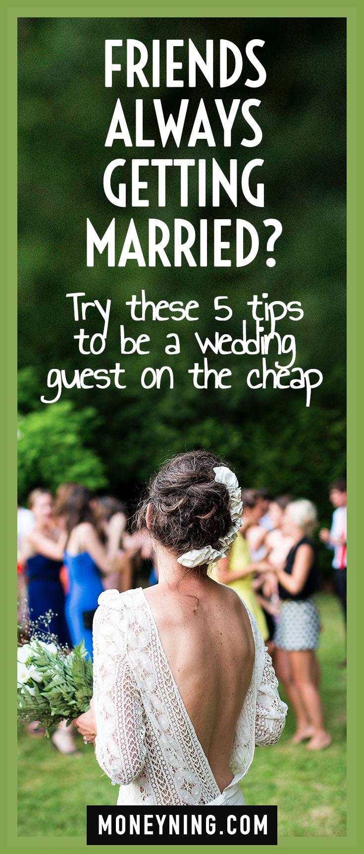 budget wedding guest
