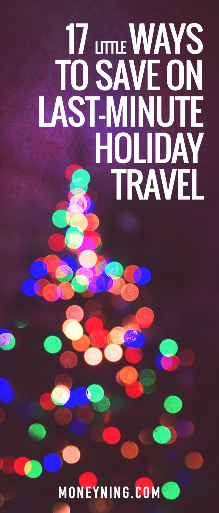 save on holiday travel
