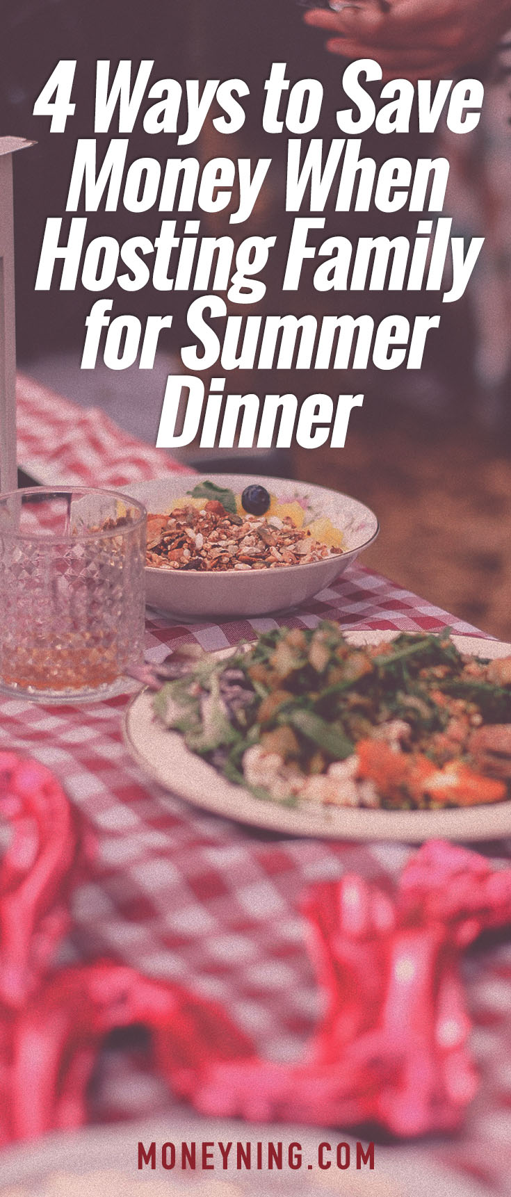 save money on family dinner