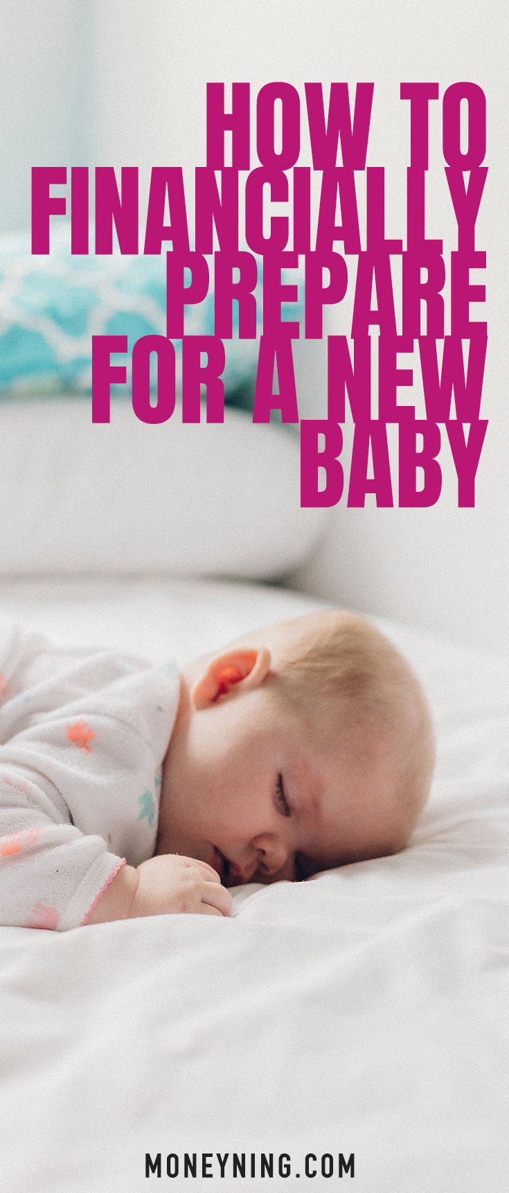 financially prepare for a new baby