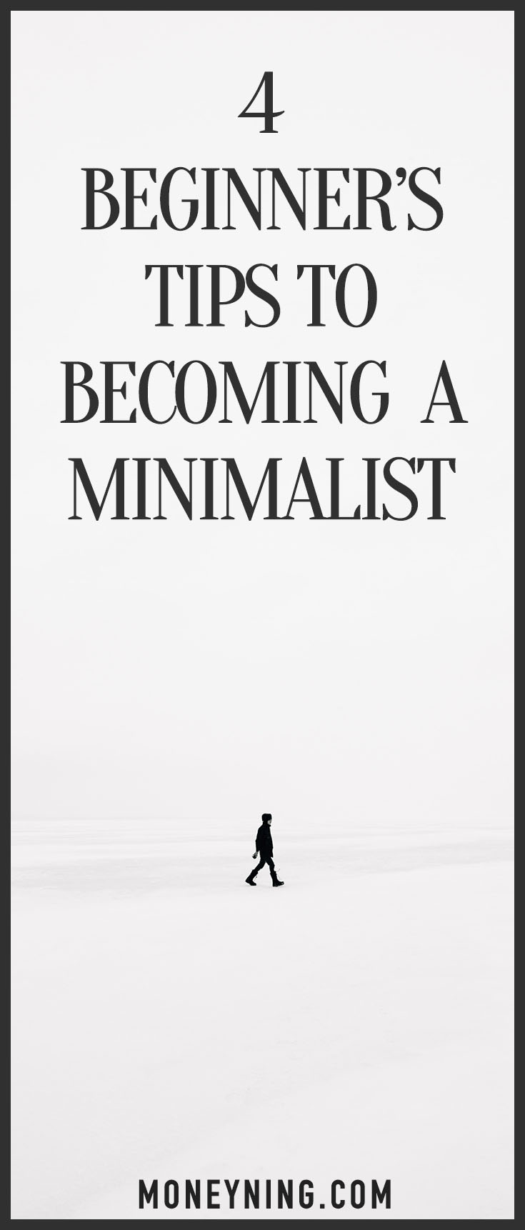 become a minimalist
