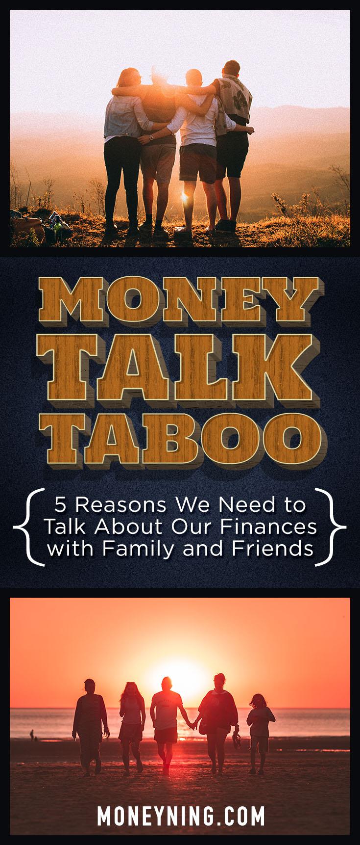money-talk taboo