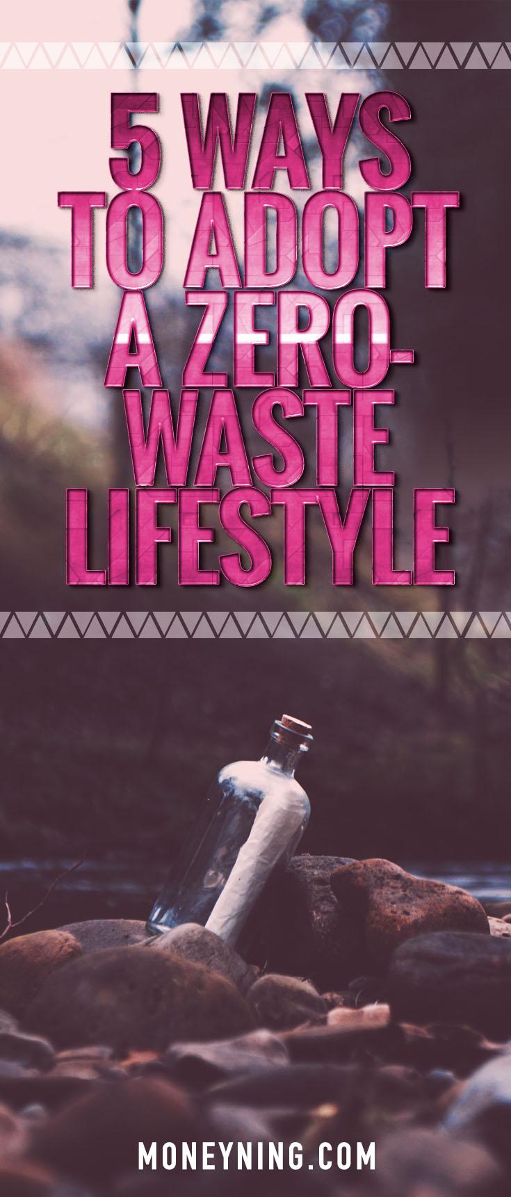 zero-waste lifestyle