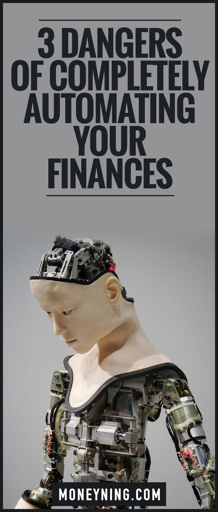 automating finances danger