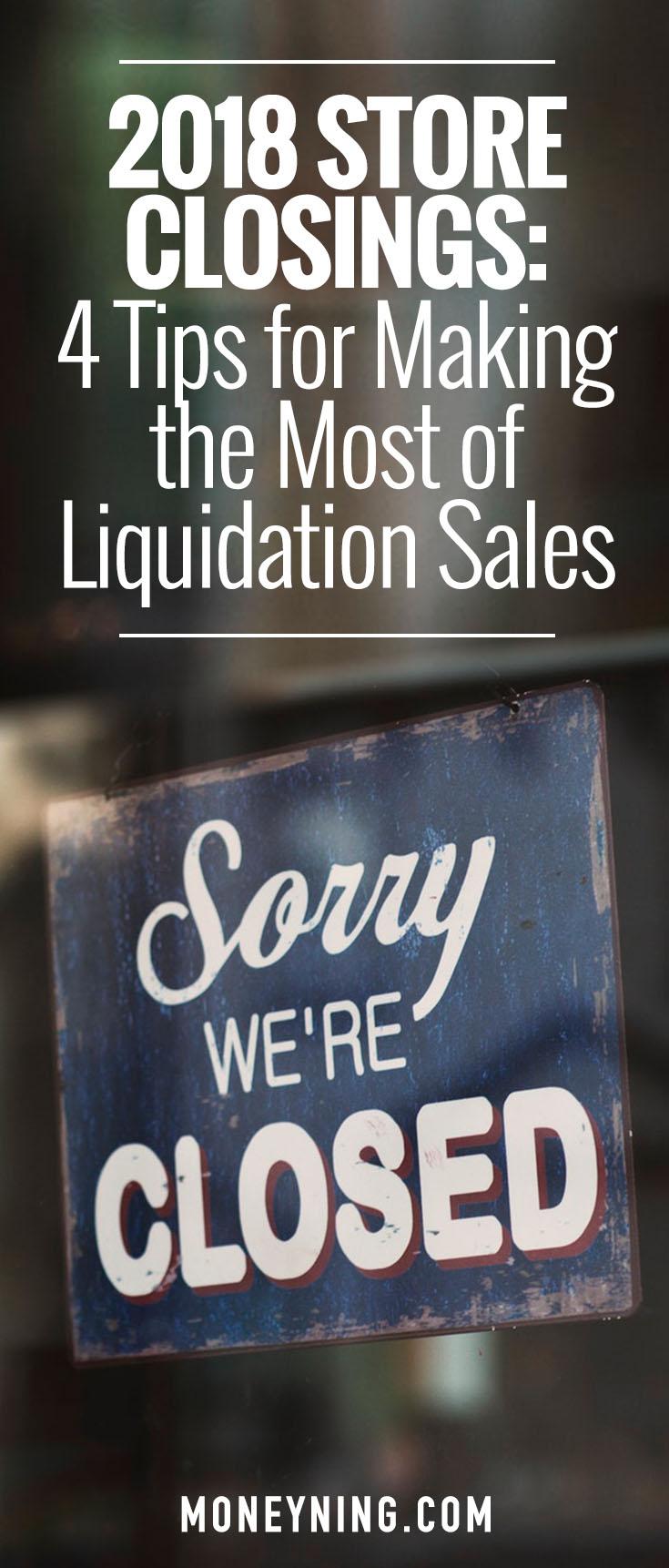 liquidation sales