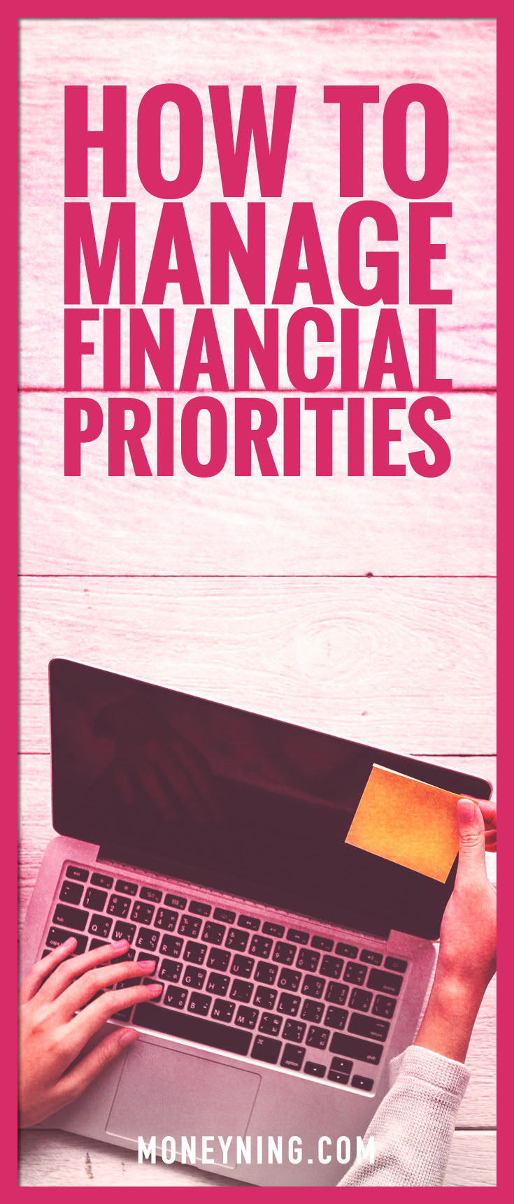manage financial priorities