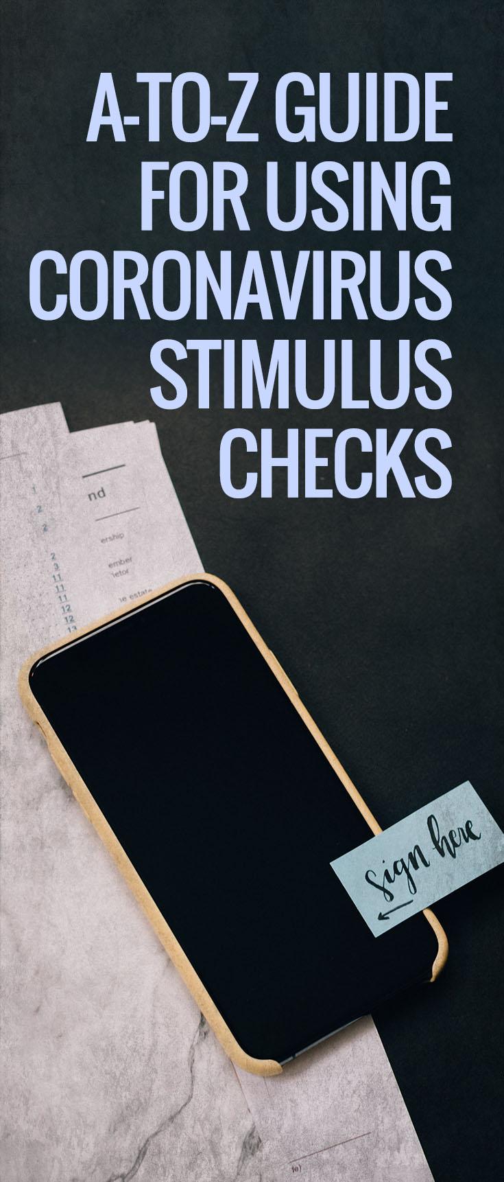 using coronavirus stimulus checks
