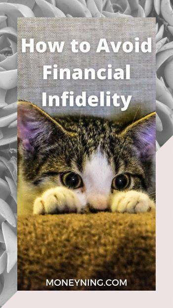Como evitar infidelidade financeira 4