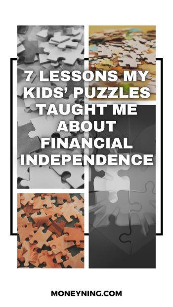 7 lições que os quebra-cabeças de meus filhos me ensinaram sobre independência financeira 4